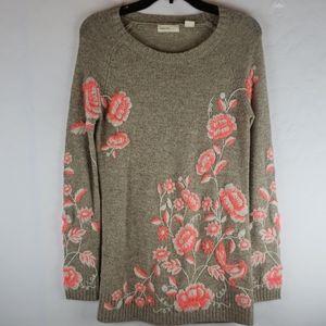 ANTHROPOLOGIE Sleeping On Snow Wool/Alpaca Sweater